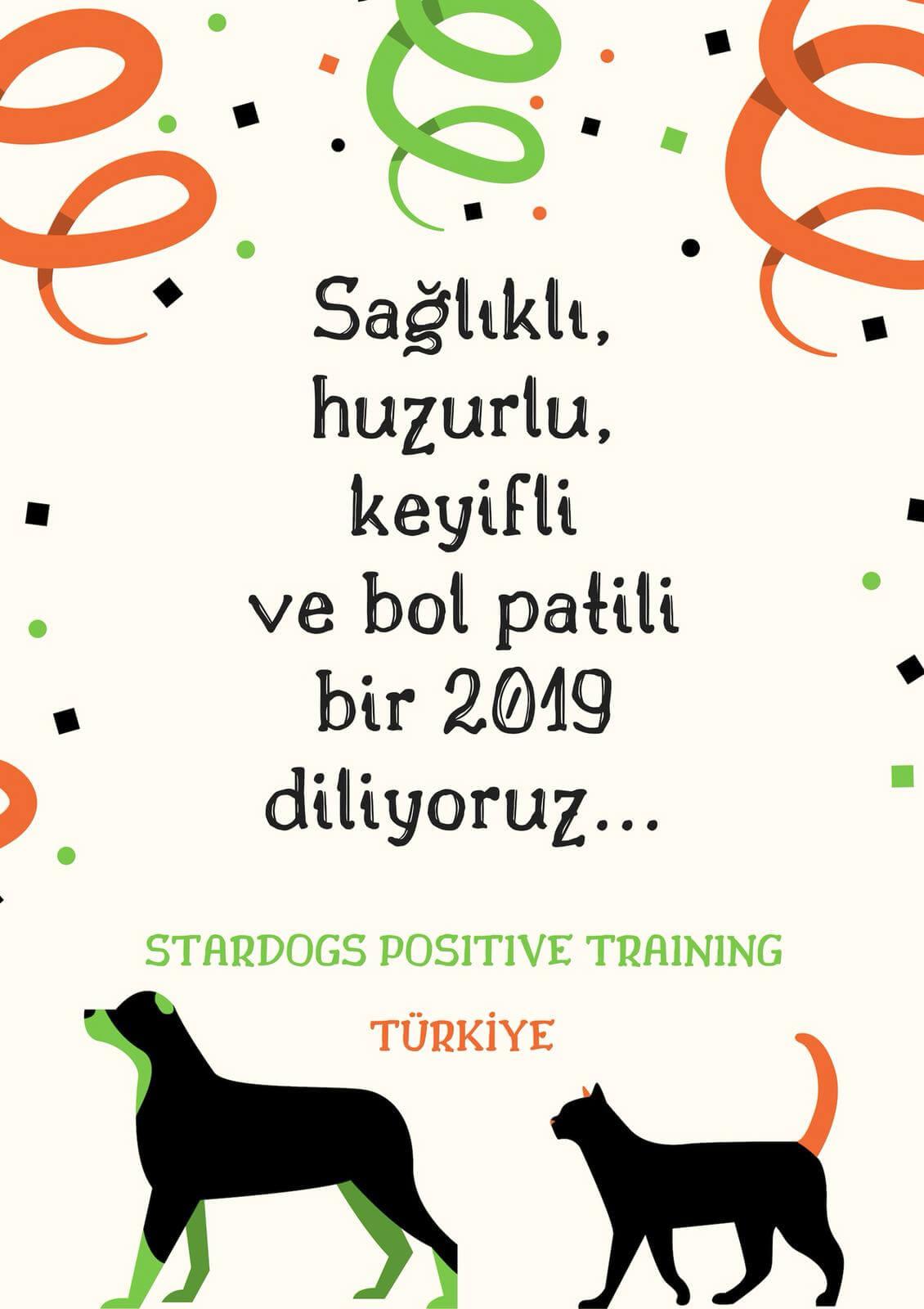 Yeni yılınız kutlu olsun. StarDogs Türkiye