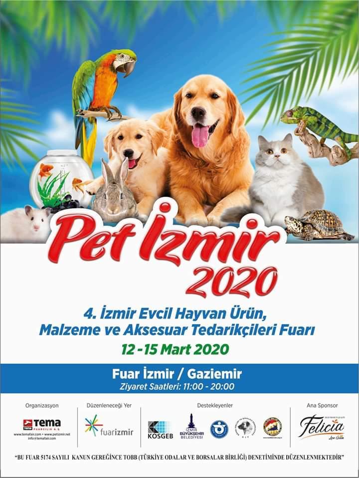 Pet İzmir 2020 Duyuru